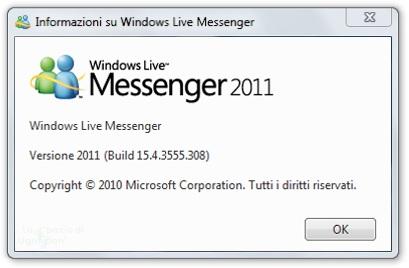 SCARICARE LA NUOVA VERSIONE DI MSN 2011